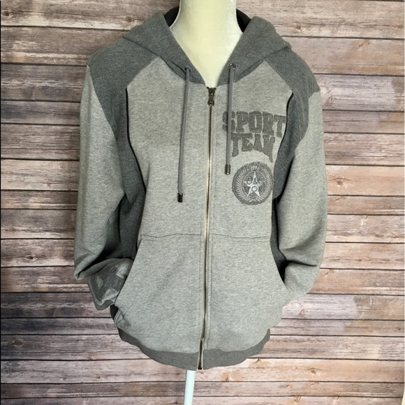 Dolce & Gabbana Other - 💯 Authentic D&G Gray Sport hoodie XL